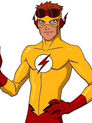 Wally West wig from Kid Flash