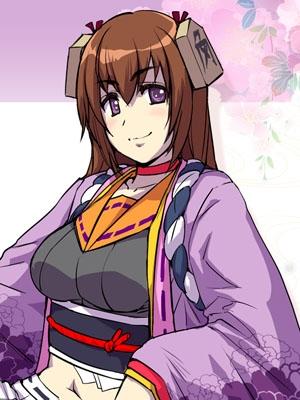 Sen Tokugawa wig from Hyakka Ryoran Samurai Girls