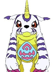 Gabumon wig from Digimon Adventure
