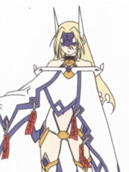 Mu-12 wig from BlazBlue: Calamity Trigger