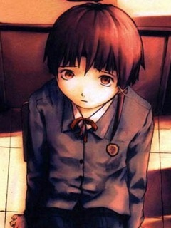 Lain Iwakura wig from Serial Experiments Lain