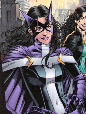 Helena Wayne wig from The Huntress (Comics)