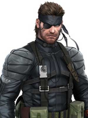 Solid Snake wig from Metal Gear Solid
