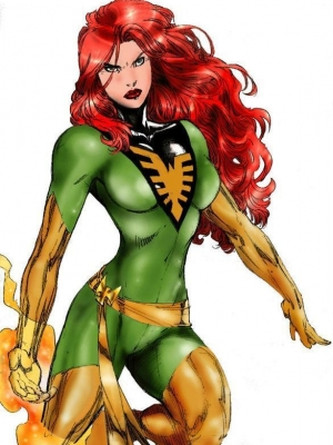 Jean Grey wig from X-Men