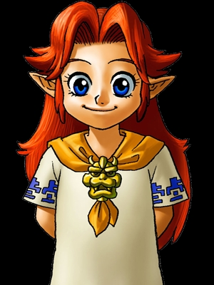 Malon wig from The Legend of Zelda