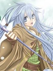 Eria the Water Charmer wig from Yu-Gi-Oh