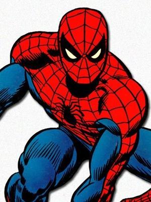 Spider-Man peluca de Spider-Man