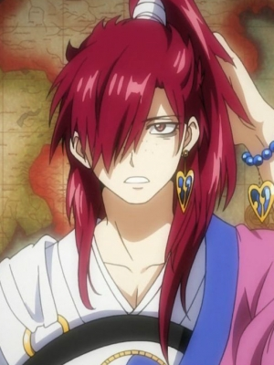 Koumei Ren wig from Magi: The Labyrinth of Magic