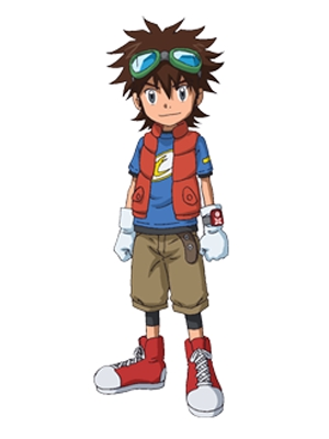 Mikey Kudo wig from Digimon Xros Wars