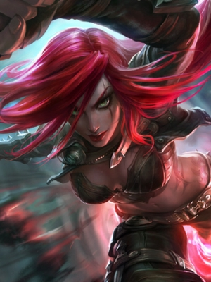 Katarina the Sinister Blade wig from League of Legends