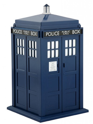 Tardis peluca de Doctor Who