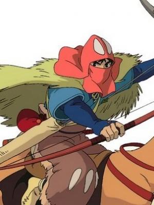 Ashitaka wig from Princess Mononoke