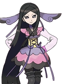 Valerie wig from Pokemon X and Y