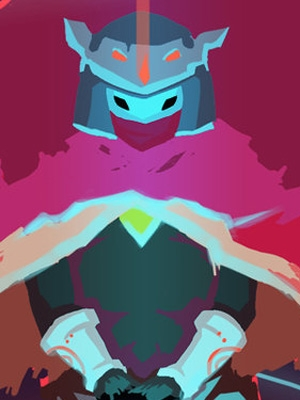 The Drifter wig from Hyper Light Drifter