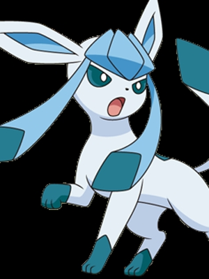 Glaceon wig from Pokemon