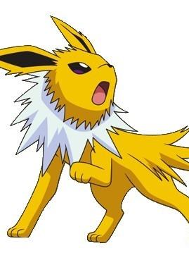Jolteon wig from Pokemon
