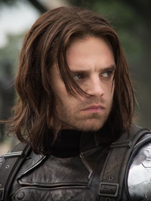Bucky Barnes wig from Captain America