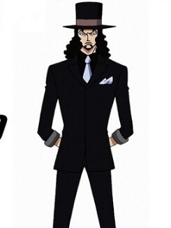 Rob Lucci wig from One Piece