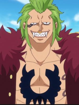 Bartolomeo wig from One Piece