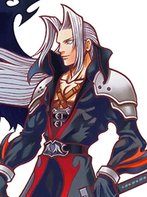 Sephiroth wig from Kingdom Hearts