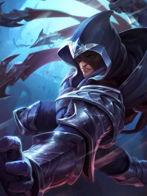 Talon la Sombra de la Espada peluca de League of Legends