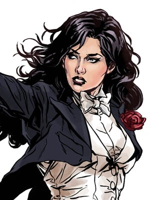 Zatanna Zatara wig from Batman