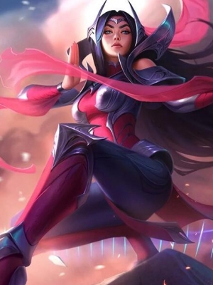 Irelia Der Wille der Klingen Perücke von League of Legends