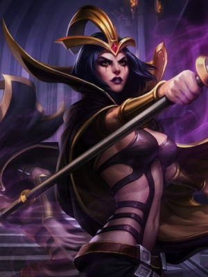 LeBlanc the Deceiver wig from League of Legends