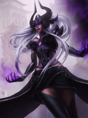 Syndra the Dark Sovereign wig from League of Legends