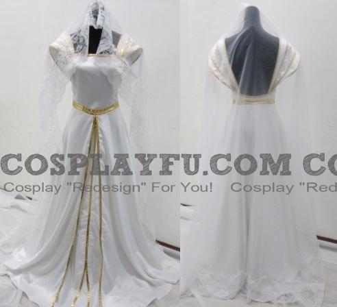 Fate Zero 아이리스필 폰 아인츠베른 코스프레 (White Dress)