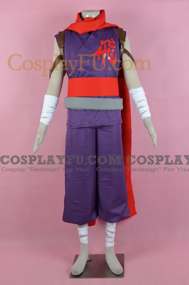 Strider Cosplay Costume from Marvel vs Capcom Clash of Super Heroes