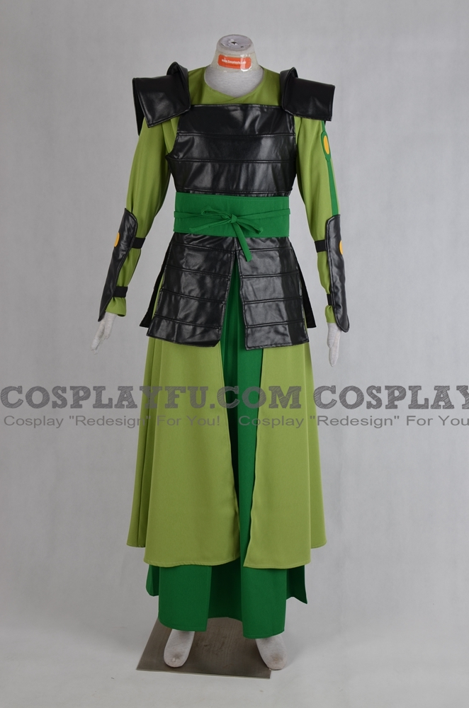 Suki Cosplay Costume from Avatar The Last Airbender