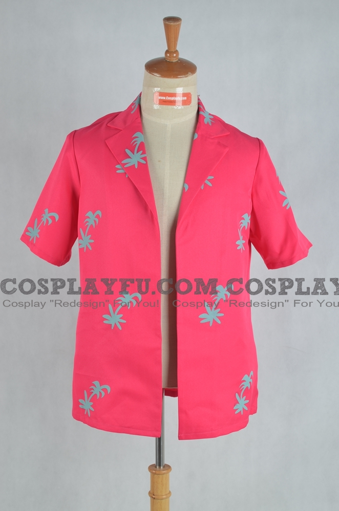 Franky Cosplay Costume (Shirt) from One Piece