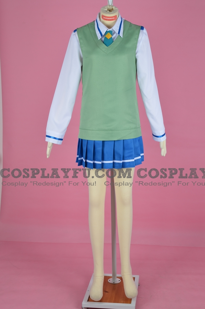 Cure March Cosplay Costume (School Uniform) from Smile PreCure!