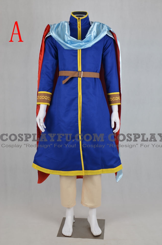 Eliwood Cosplay Costume from Fire Emblem
