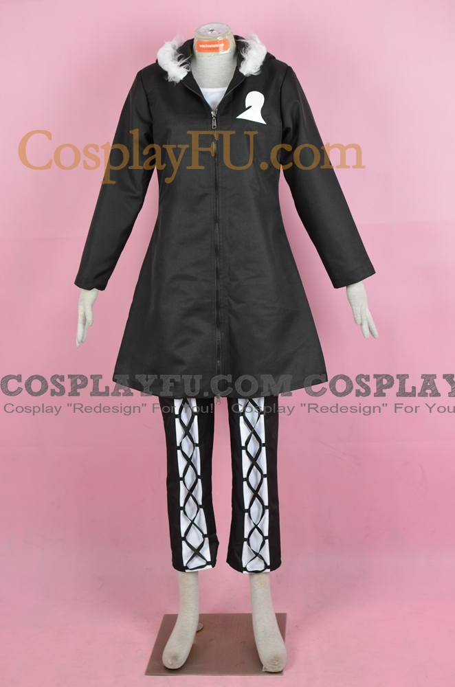 Debitto Cosplay Costume (2nd) from D Gray Man