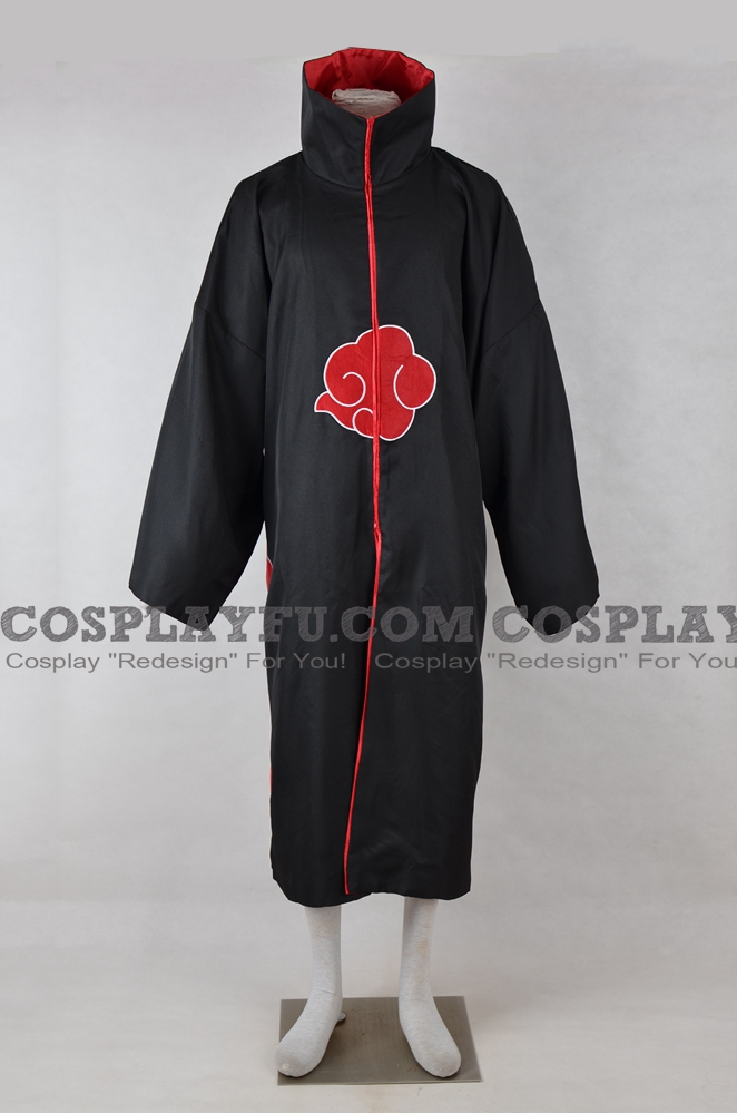 Akatsuki Cosplay Costume (Cloak) from Naruto Shippuuden