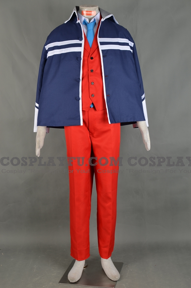 Justice Cosplay Costume (2nd) from Ace Attorney