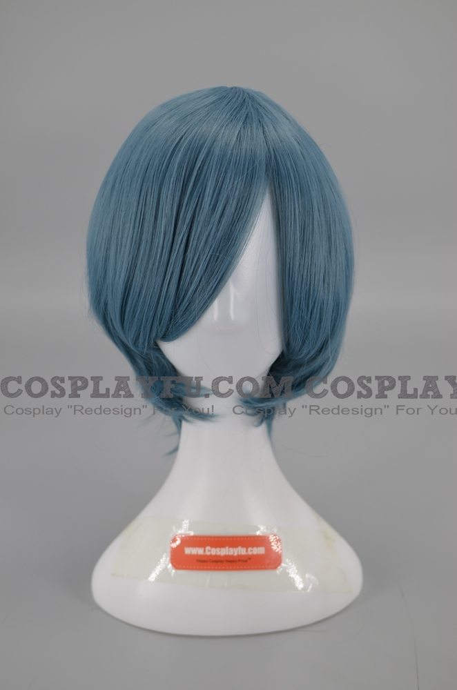 Blue Wig (Short,Spike,Q)
