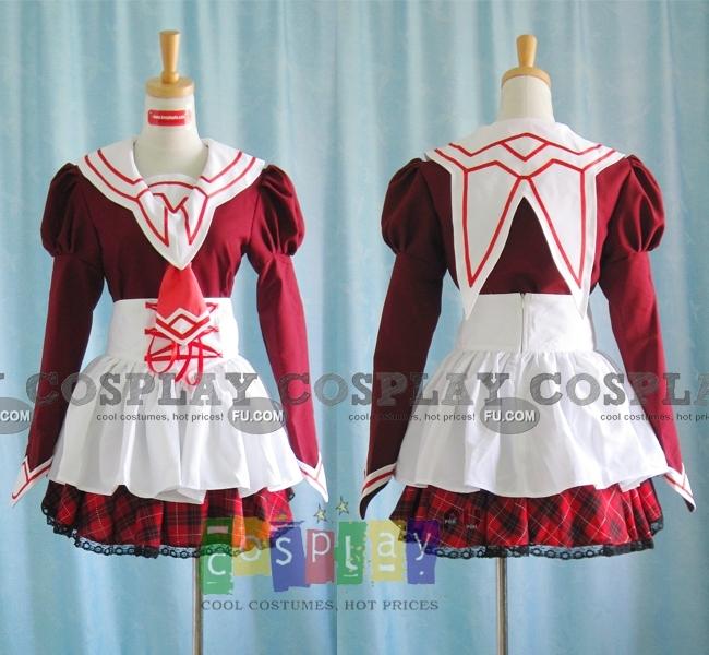 Yuka Cosplay Costume from 11eyes
