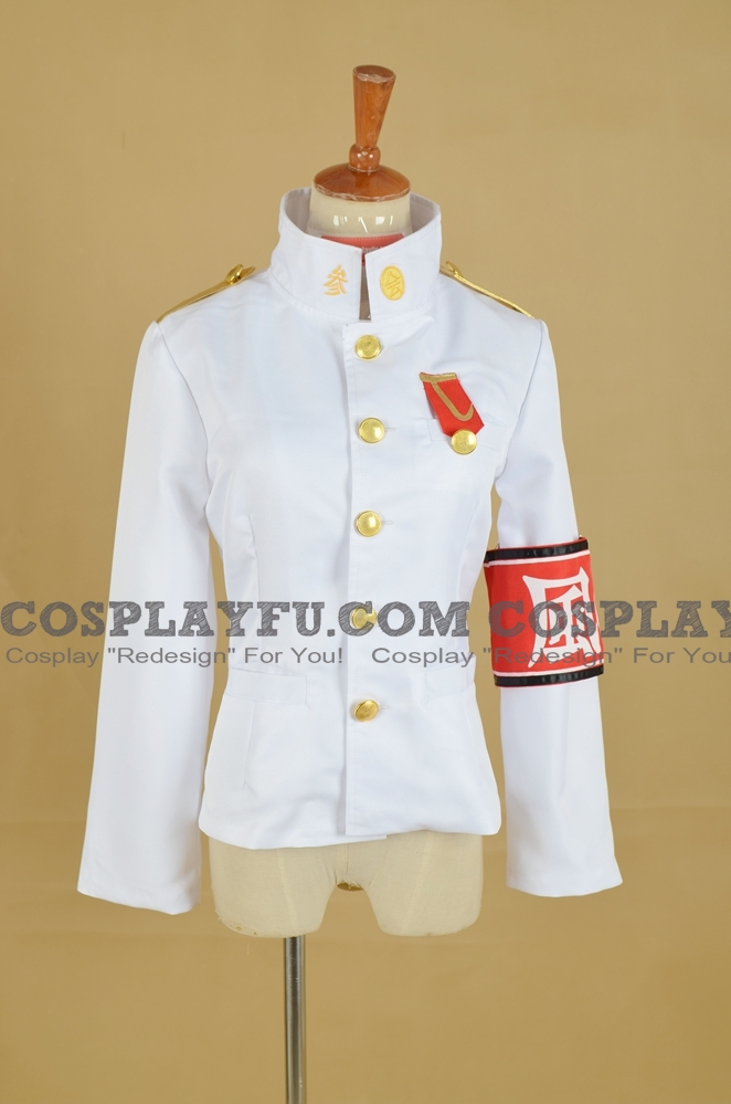 Kiyotaka Cosplay Costume (Female Jacket) from Danganronpa