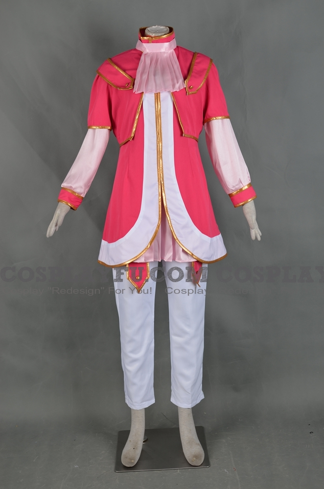 Trey Cosplay Costume (Pink) from Yu Gi Oh Zexal