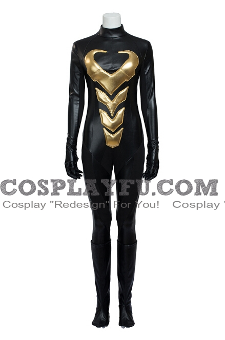 Wasp Cosplay Costume from Marvel