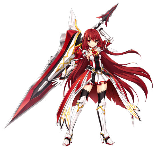 Elesis Cosplay Costume (Grand Master) from Elsword