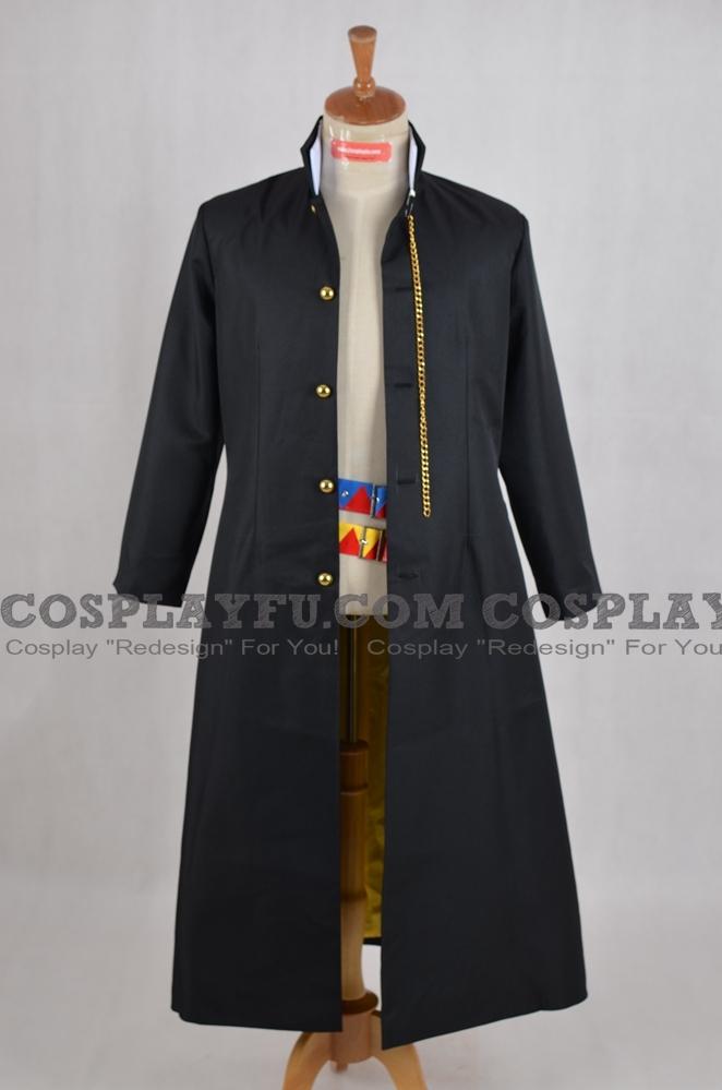 Jotaro Cosplay Costume (Jacket and Belts) from JoJos Bizarre Adventure