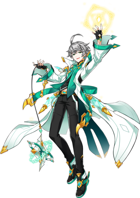 Ain Cosplay Costume (Erbluhen Emotion) from Elsword