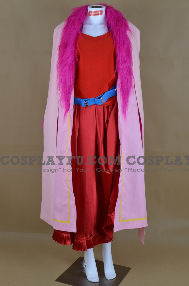 Vivi Cosplay Costume (Red Pirate) from One Piece