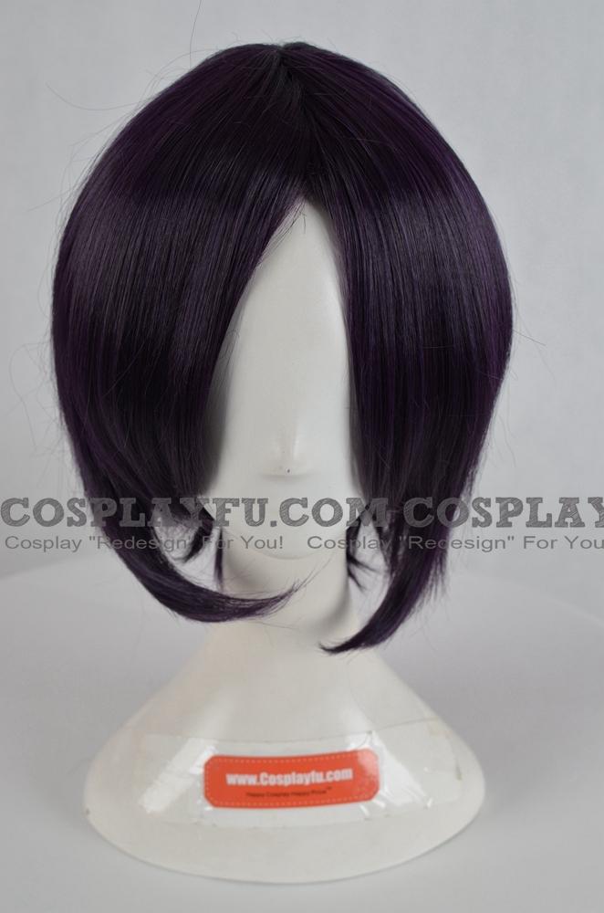 Purple Wig (Dark Purple,Straight,Short,Lenalee)