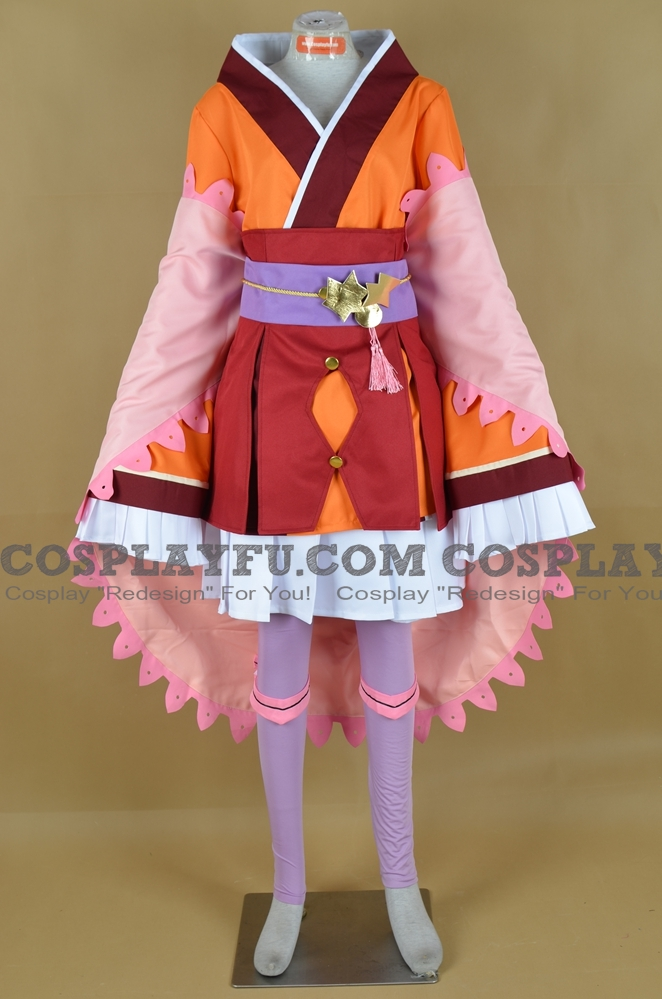 Sakuya Cosplay Costume from Rune Factory 3