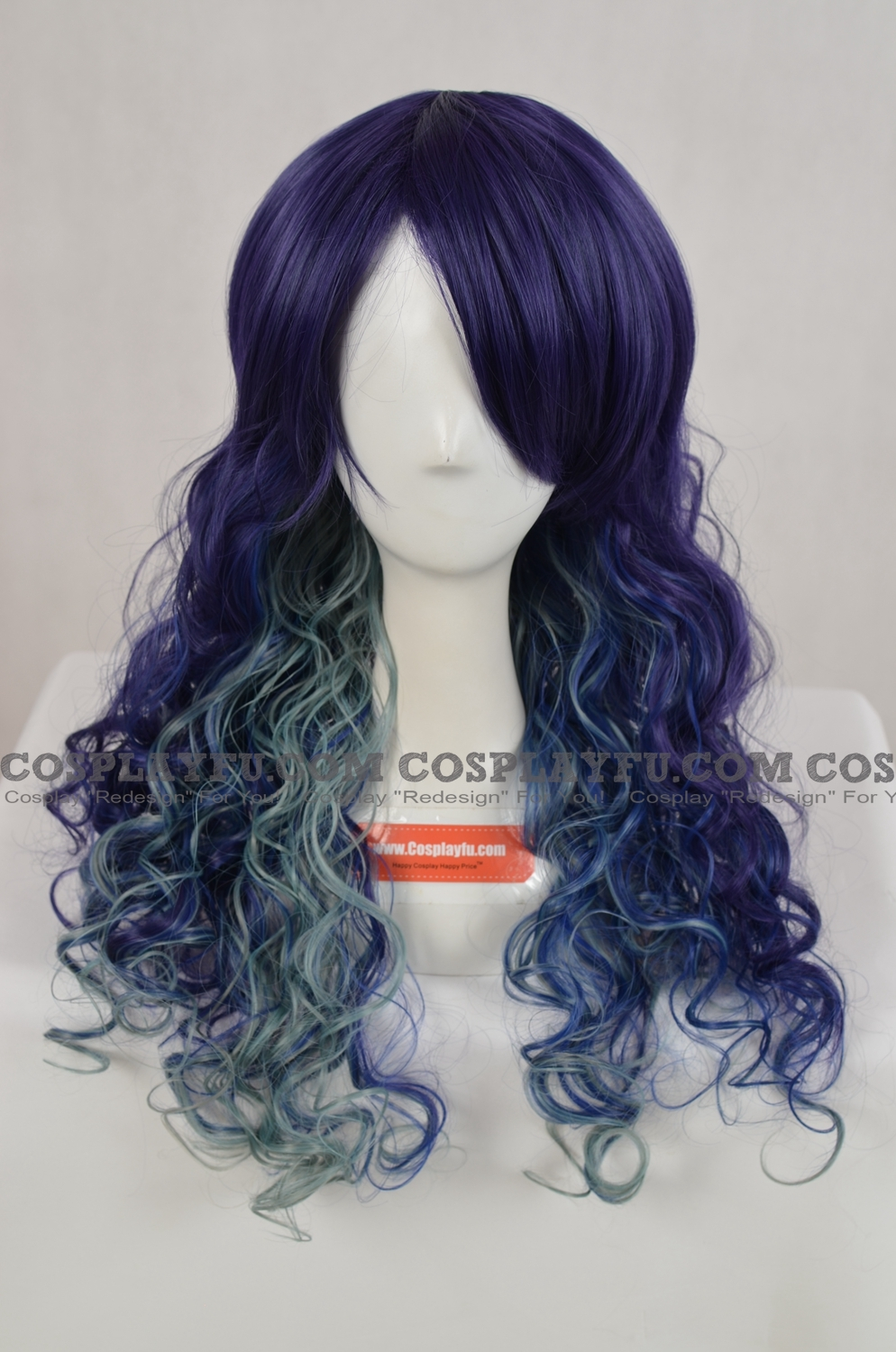 Purple Wig (Mixed,Wavy,Long)